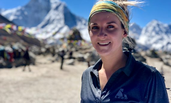 Kirstie Ennis, Amputee Attempting Mt. Everest Climb, to be Featured Speaker at Mad Hatter Tea Party June 8, 2019