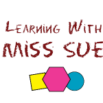 Learning with Miss Sue logo