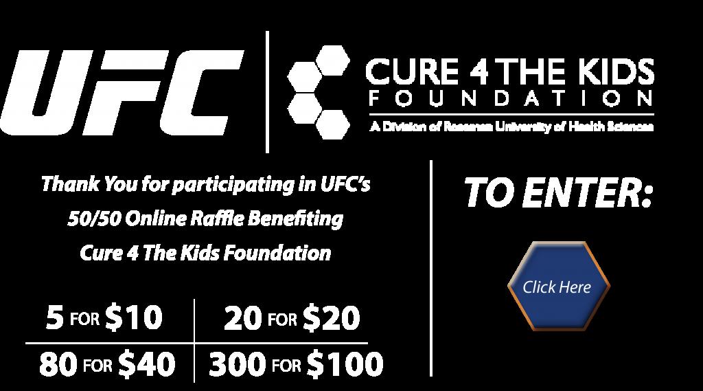 UFC 50/50 Raffle