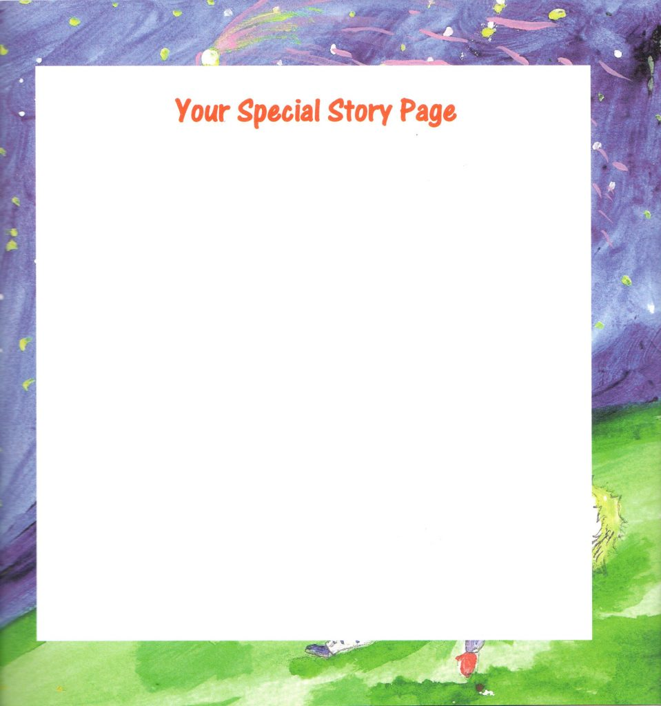 Your Special Story Page