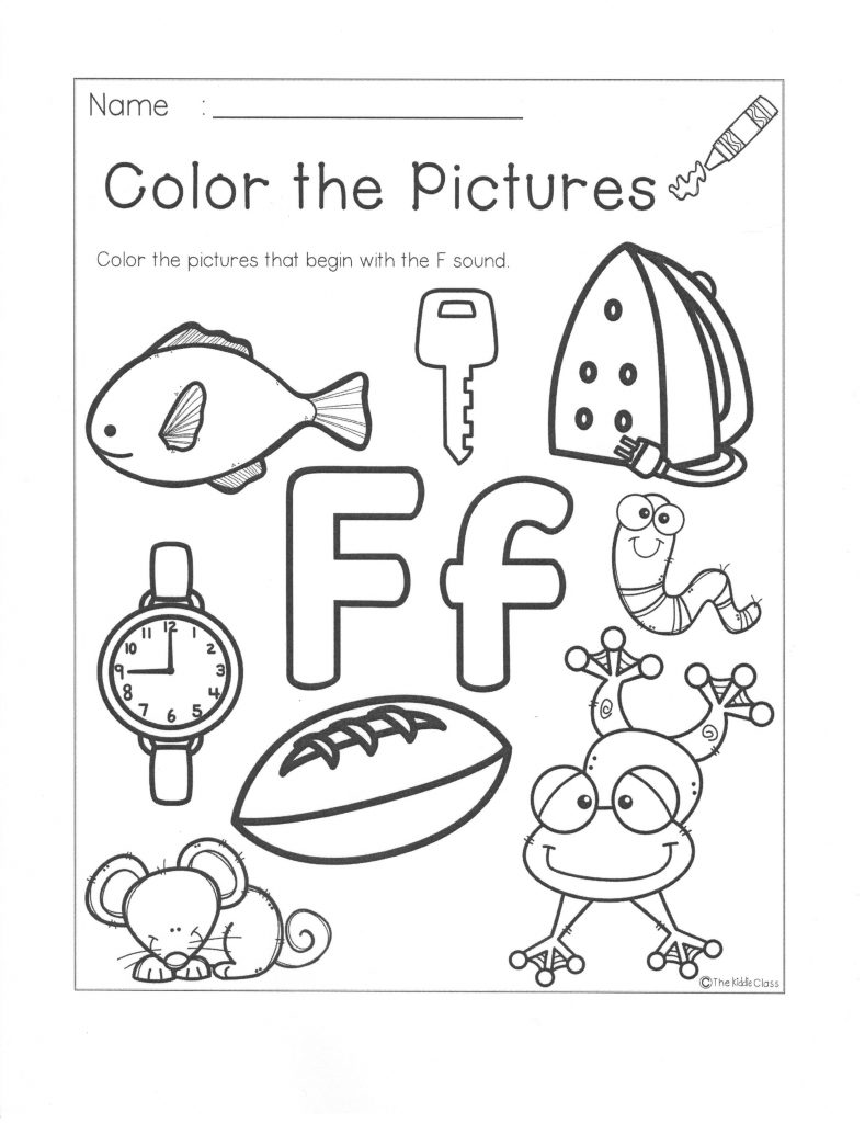 Color the Pictures F