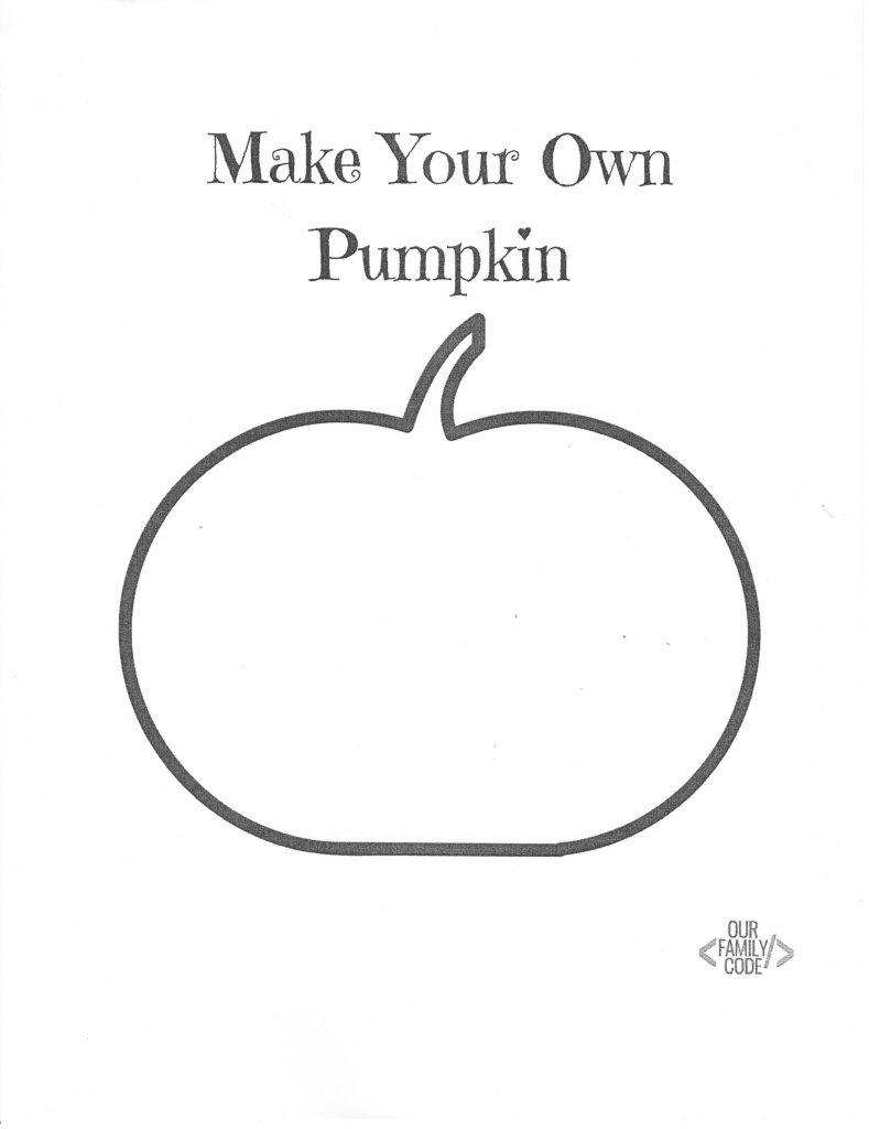 Make Your Own Pumpkin