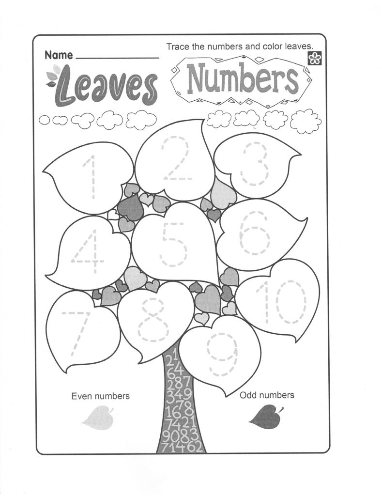 Leaves and Numbers