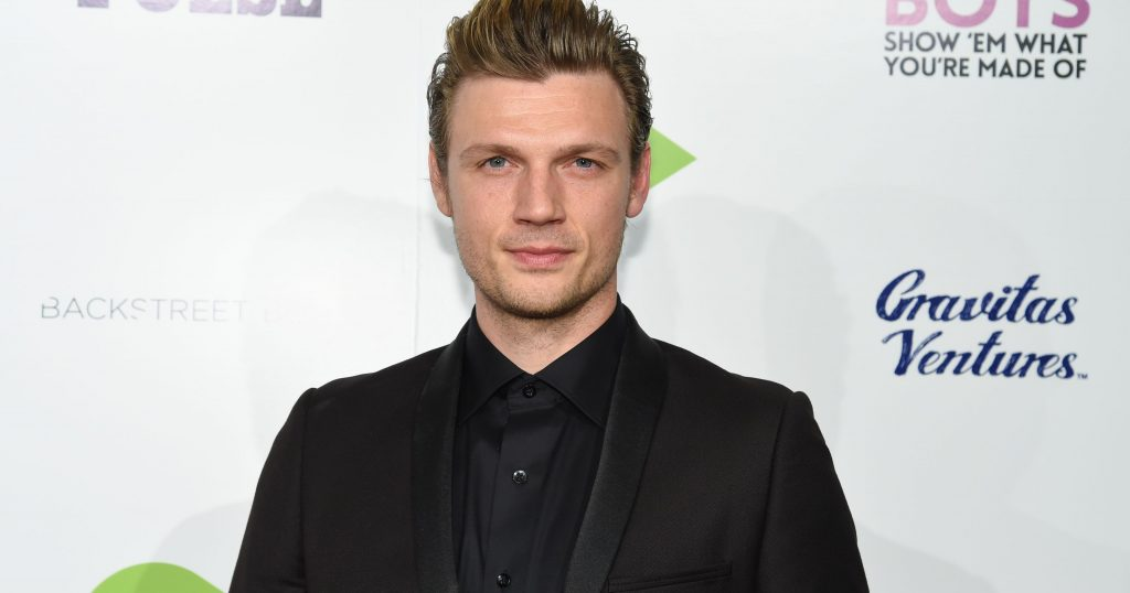 Nick Carter of the Backstreet Boys Supporting Cure 4 The Kids Foundation