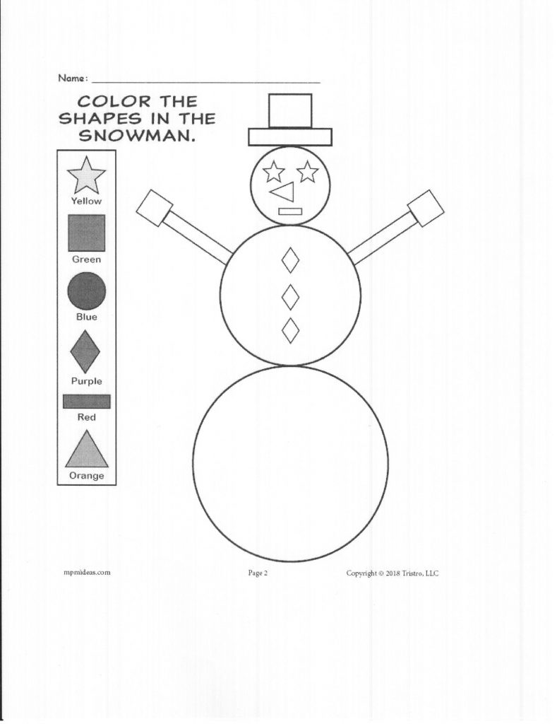 Snowman Shapes