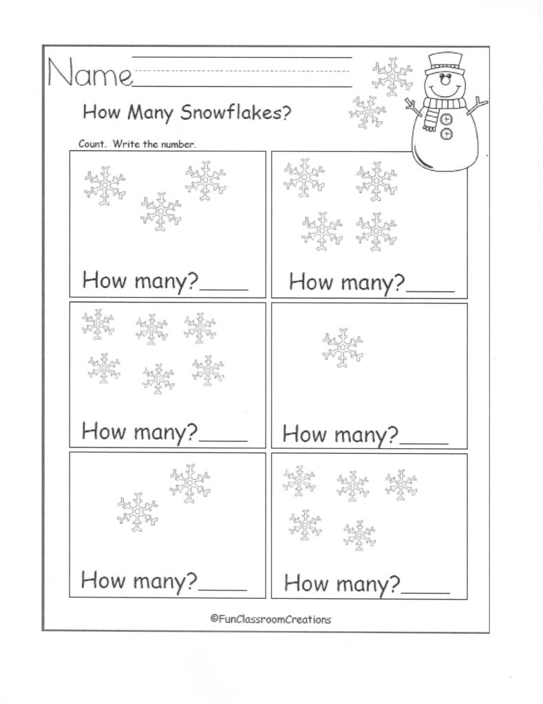How Many Snowflakes?